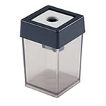 Dahle Plastic Wedge Canister Handheld Pencil Sharpener (Pack of 10) - 53461 ET10046