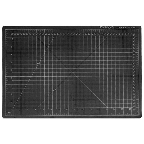 Dahle Vantage Self-Healing Clear Cutting Mat - Black (5 Sizes Available)