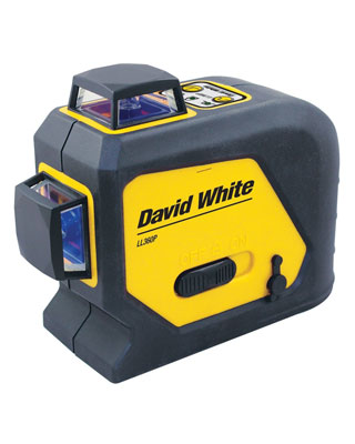 David White 360-Degree Alignment Line Laser LL360P - 47-LL360P ES6451