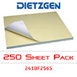 "Dietzgen Diazo/Blueline Fast Speed Paper, 18"" x 24"" (250-Sheet Pack) 241BF256S ES1218"