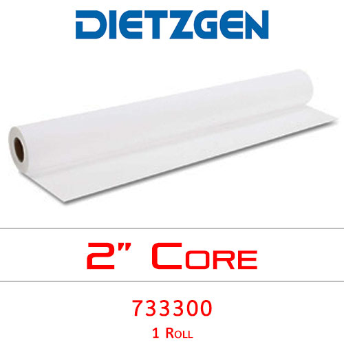 "Dietzgen Inkjet Uncoated Recycled Bond Paper, 20 lb, 30"" x 300' (1 Roll) 733300"