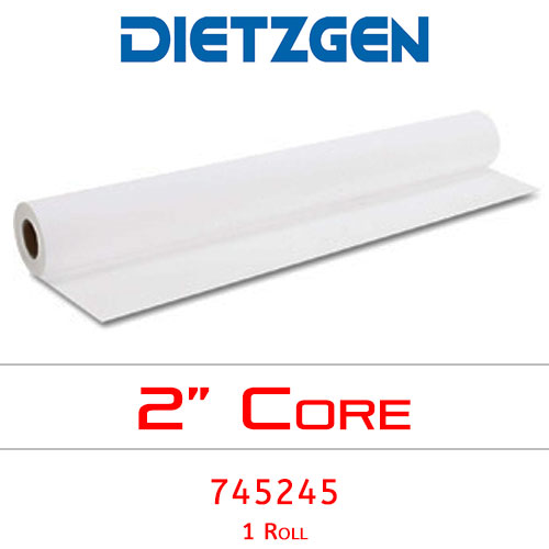 "Dietzgen Inkjet Coated Bond Paper, 24 lb, 24"" x 150' (1 Roll) 745245"