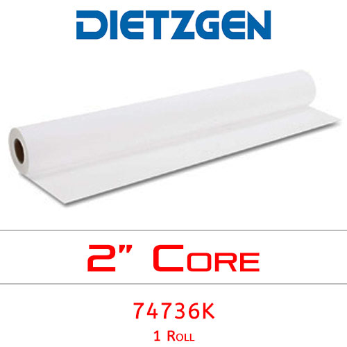 Dietzgen Inkjet Coated Bond Paper, 46 lb, 36 x 100 (1 Roll) 74736K