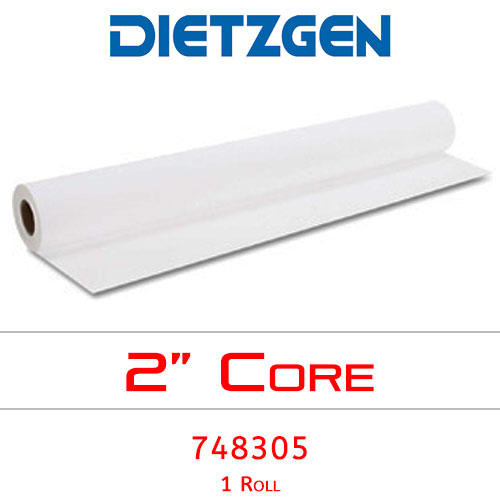 "Dietzgen Inkjet Coated Bond Paper, 28 lb, 30"" x 150' (1 Roll) 748305"