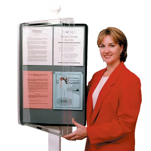 Doc Box All Weather Bulletin Board Model 20001