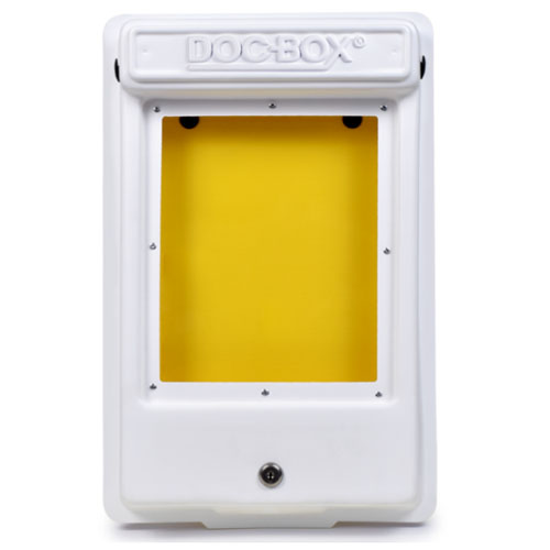 Doc-Box 2 Permit Holder Box - With Lock and Window - 10119