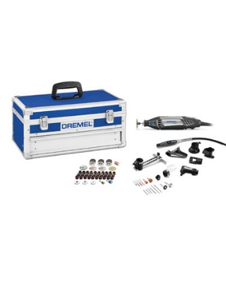 Dremel 4200-8/64 - Corded Variable Speed Rotary Tool Kit with EZ Change Platinum Edition ES6836
