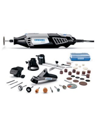 Dremel 4000-4/34 - Corded Variable Speed High Performance Rotary Tool Kit ES6840
