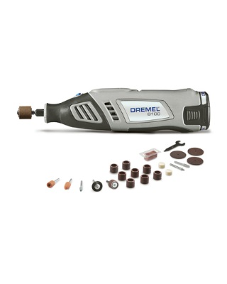 Dremel 8100-N/21 - 8100 Series Cordless Variable Speed Rotary Tool Kit ES6859