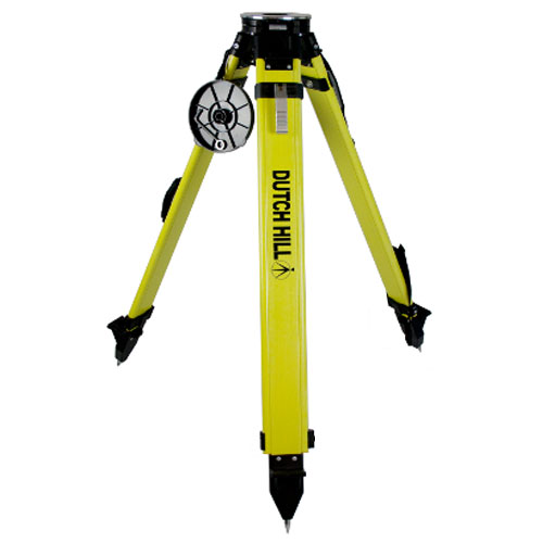 Dutch Hill DH01-018-QC - Heavy Duty Surveyors Tripod with Round Aluminum Head (Quick Clamp) ES7132