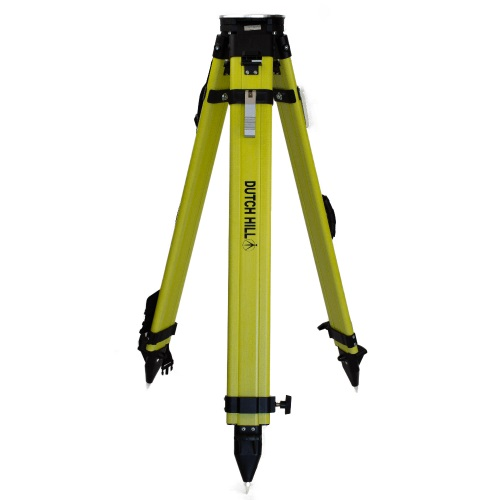 Dutch Hill DH01-018 - Heavy Duty Surveyor's Tripod with Round Aluminum Head and Leg Retainer ES7135