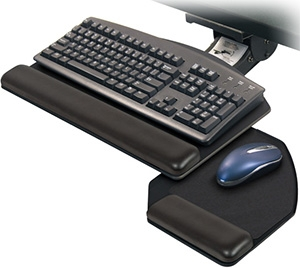ESI Solution 3 Articulating Arm and Keyboard Platform