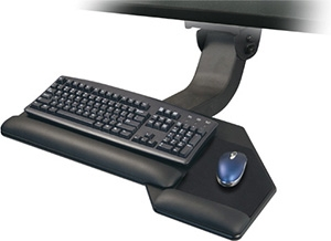 ESI Solution 4 Articulating Arm and Keyboard Platform