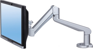 ESI Edge-Max Series Single Monitor Arm for Heavy Monitors EDGE-MAX