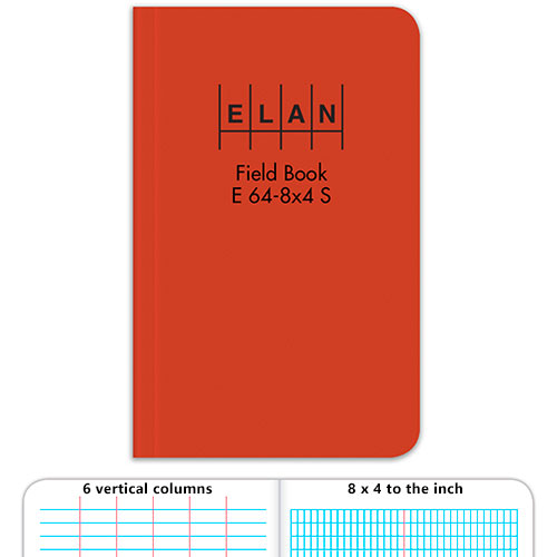Elan Economy Soft Cover Field Book E64-8x4S