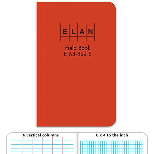 Elan Economy Soft Cover Field Book E64 8x4s Engineersupply