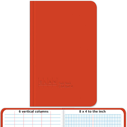 Elan Pocket Size Field Book E64 8x4m Surveyors Notebook