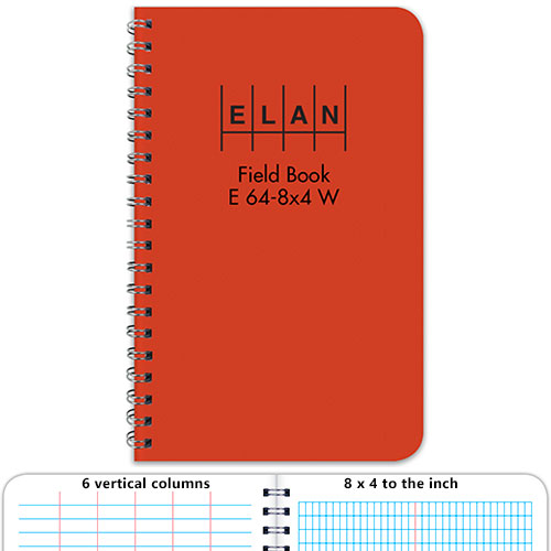 Elan Economy Field Book E64 8x4w Student Field Book