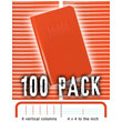 Elan Field Book E64-4x4 - 100 PACK BUNDLE ES6233