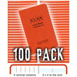 Elan Economy Field Book E64-8x4S - 100 PACK BUNDLE ES6234