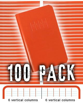 Elan Pocket-Size Level Book E64-64M - 100 PACK BUNDLE
