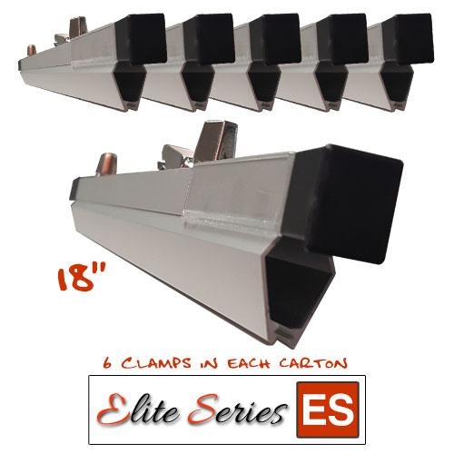 Elite series es hc18 heavy duty 18 blueprint hanging clamps elite series es hc18 heavy duty 18quot blueprint hanging clamps 6 clamps malvernweather Image collections