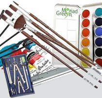 Art Supplies, Art Projectors, Easels, Brushes, Organizers