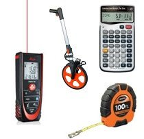 Measuring Tools, Construction Calculators, Laser Levels
