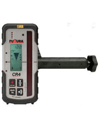 Futtura CR4 Laserometer Receiver and Rod Clamp