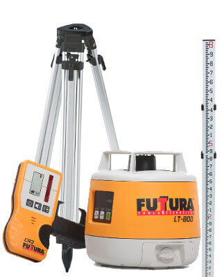 Futtura LT-800 Rotary Laser Level Package (8 Ft) ES6490