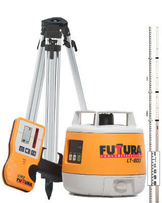 Futtura LT-800 Rotary Laser Level Package (16 Ft)