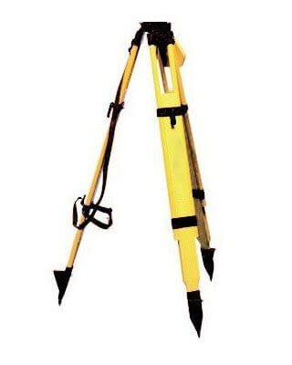 Futtura 60-WDF20 - Wood/Fiberglass Flat Head Tripod with Quick Clamps ES6902