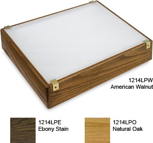 "Gagne Porta-Trace Low Profile Oak 12"" x 14"" Light Box"