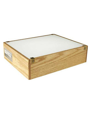 "Gagne Porta-Trace Oak 12"" x 14"" LED Light Box - 1214W-LED ES6036"