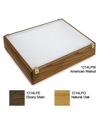 "Gagne Porta-Trace Low Profile Oak 12"" x 14"" LED Light Box (3 Models Available) ES6041"