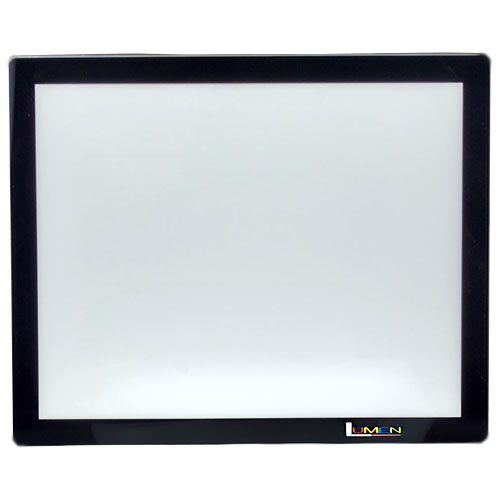 "Gagne 6"" x 9"" Lumen 2.0 LED Frameless Light Panel - Black"