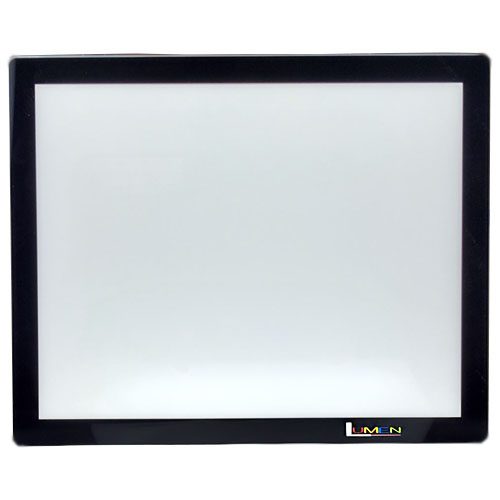 "Gagne 8"" x 11"" Lumen 2.0 LED Frameless Light Panel - Black"