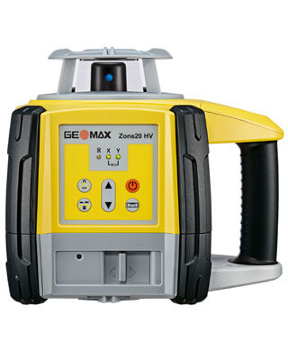 GeoMax Zone20 HV Leveling Laser (3 Models Available)