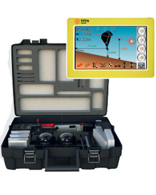 GeoMax EzDig S and T Series - Excavator Guidance System ES7472