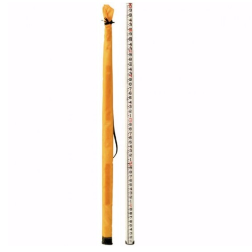 GeoMax 25 ft SK Oval Fiberglass Leveling Rod (2 Models Available)