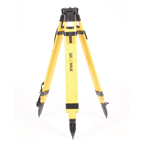 GeoMax 833661 - Wood Fiberglass Quick Clamp Tripod