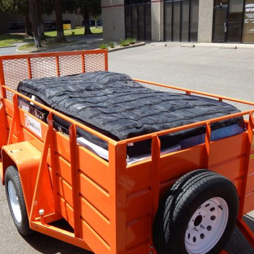 Gladiator Cargo Nets - Utility Trailer Cargo Net (2 Sizes Available)