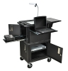 H Wilson Presentation Cart Tuffy Ultimate Presentation Station WTPSC ES4567