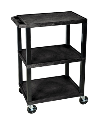 H Wilson Tuffy Utility Cart - 3 Shelves WT34S ES4585