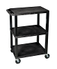 H Wilson Tuffy Utility Cart - 3 Shelves WT34S (12 Colors Available) ES4585