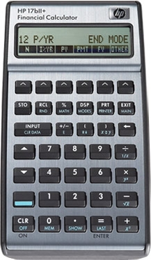 Hewlett Packard HP-17BII+ Financial Calculator ES1037