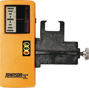Johnson Level One-Sided Laser Detector with Clamp 40-6700