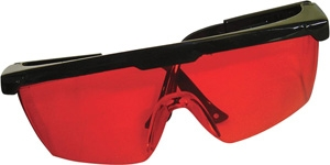 Johnson Level Red Tinted Glasses 40-6842