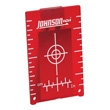 Johnson Level Red Magnetic Target 40-6844
