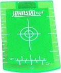 Johnson Level Green Magnetic Target 40-6846 ES1806